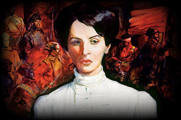 портрета Инессы Арманд работы А. Лурье (600x399, 91Kb)