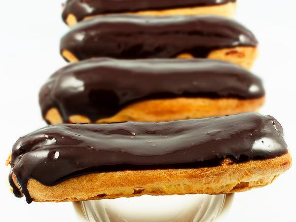 Глазурь из какао для эклеров рецепт с пошагово в