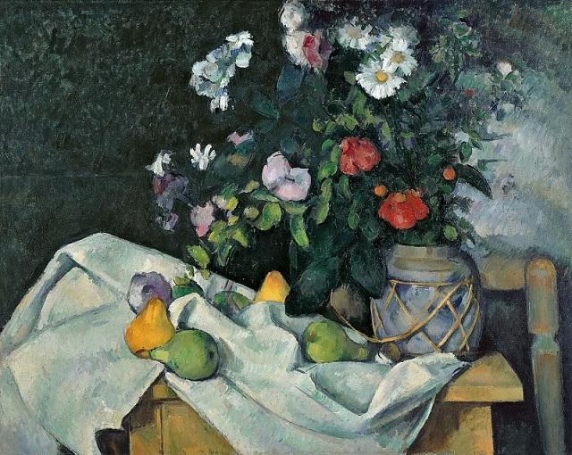 Натюрморт с цветами и фруктами, 1890 ...: www.liveinternet.ru/users/4468278/post387788837