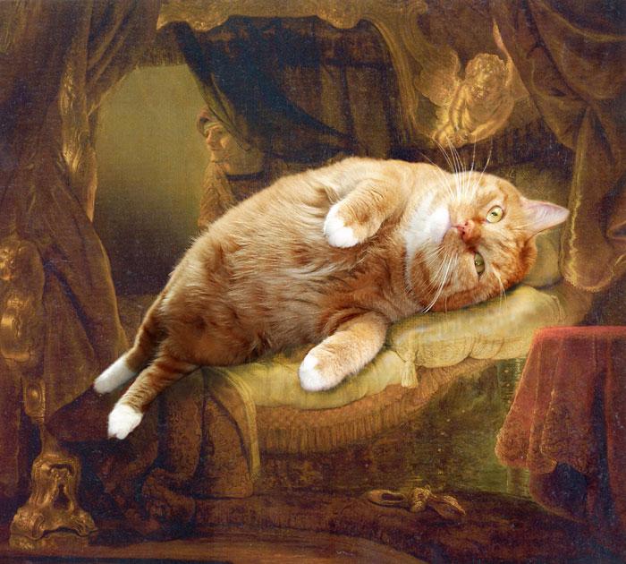 3. Рембрандт, Даная (700x630, 454Kb)