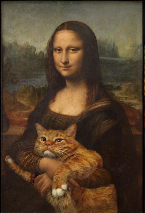4. Леонардо да Винчи, Мона Лиза, Подлинная версия (479x700, 398Kb)