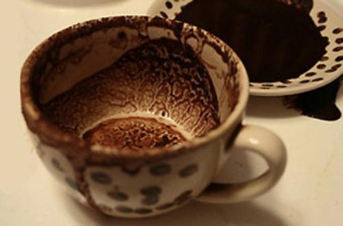 Танцующий джигит на кофейной гуще