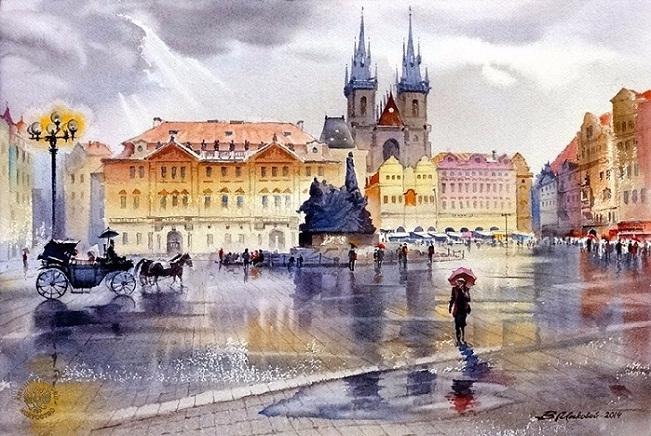 Воспоминания о Праге (651x436, 365Kb)