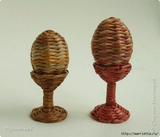 Пасхальное яичко из газетных трубочек. Мастер-класс (2) (520x446, 98Kb)