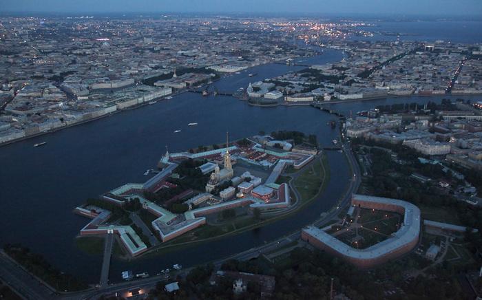 Заячий отсров - Петропавловская  крепость (700x436, 145Kb)