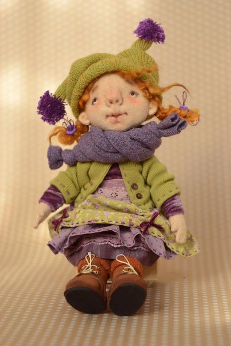 Как сшить замечательную куколку из фетра (3) (466x700, 309Kb)