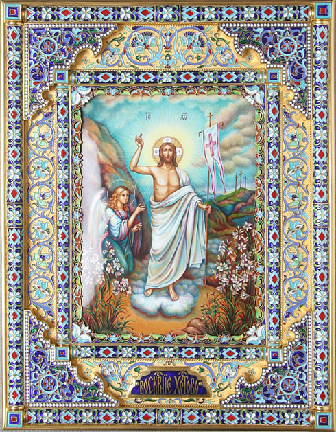 صور قديسين بزخارف رائعة
