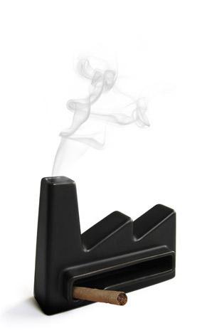 пепельница в духе промышленного дизайна