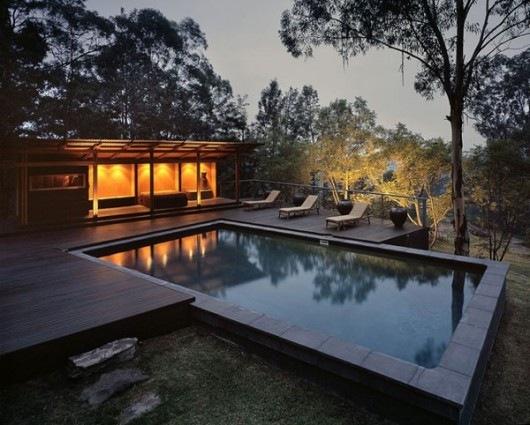 Домик в горах от студии Cplusc Architects 1