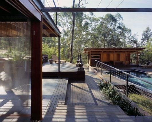 Домик в горах от студии Cplusc Architects 4