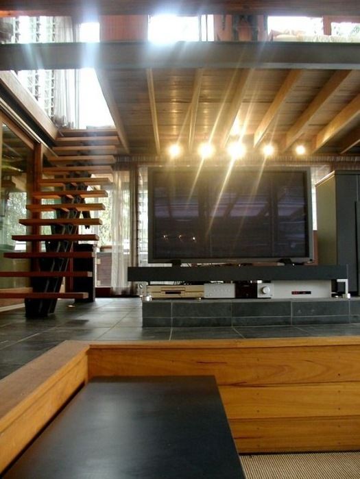 Домик в горах от студии Cplusc Architects 6