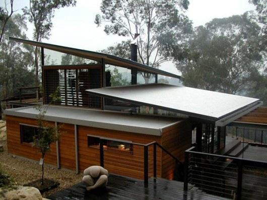 Домик в горах от студии Cplusc Architects 11
