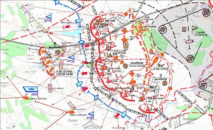 Рабочая карта командира