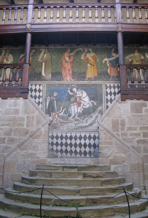 Итальянский замок Фенис (Castello di Fenis) 34096