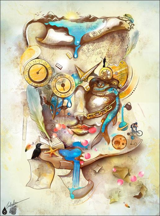 Archan Nair  - арт-директор и иллюстратор, проживающий в Нью-Дели, Индия 6