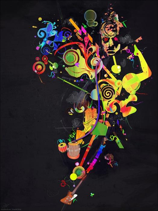 Archan Nair  - арт-директор и иллюстратор, проживающий в Нью-Дели, Индия 48