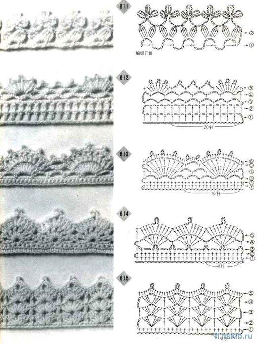 Рубрики: вязание крючком