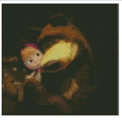 Маша и медведь схема вышивки
