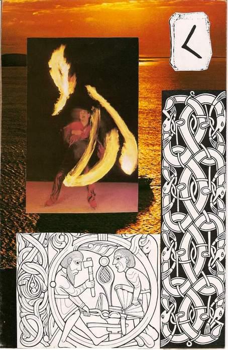 Старший Футарк. Скандинавская мифология. 64292513_1285045515_kenaz