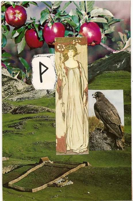 Старший Футарк. Скандинавская мифология. 64292517_1285045898_wunjo