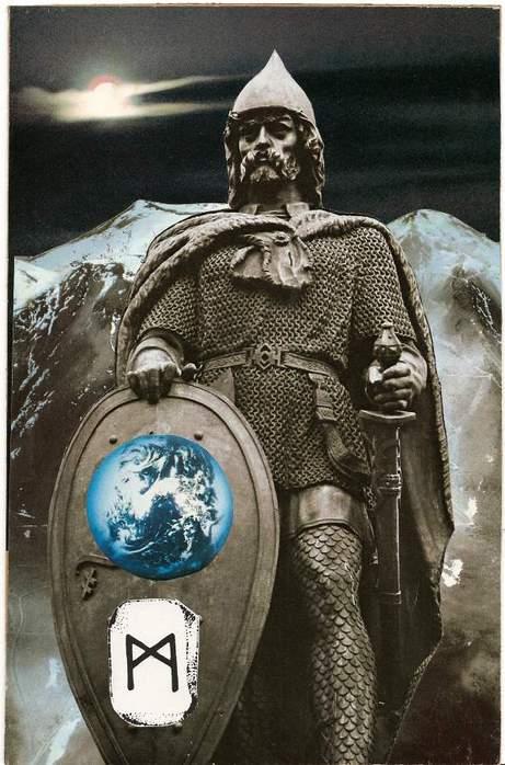 Старший Футарк. Скандинавская мифология. 64292541_1285047103_mannaz_1