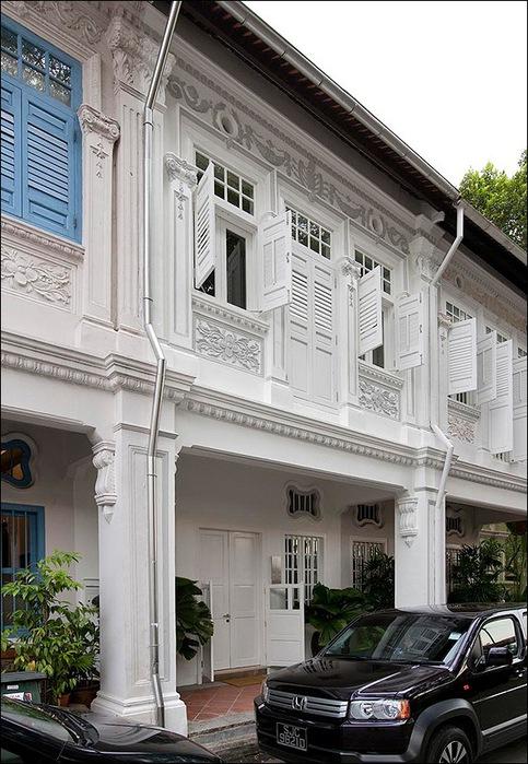 Дом в стиле минимал на Blair Road от студии Ong & Ong 5