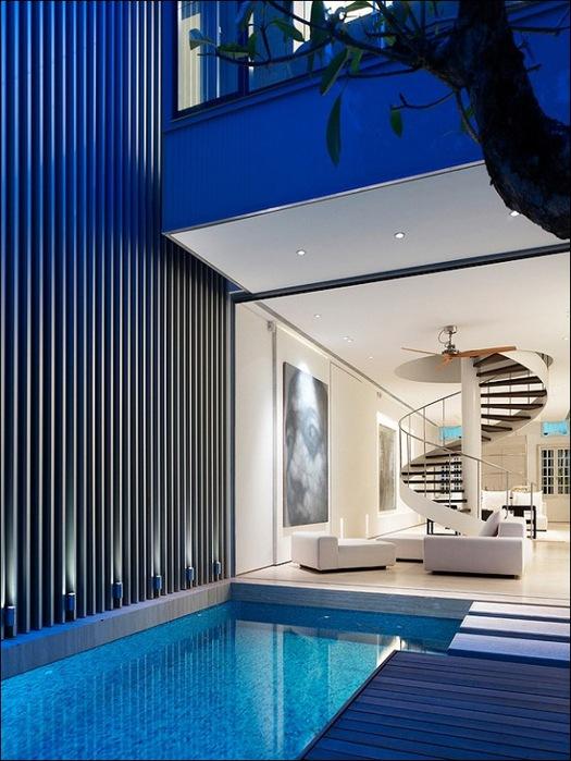 Дом в стиле минимал на Blair Road от студии Ong & Ong 7