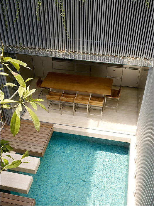 Дом в стиле минимал на Blair Road от студии Ong & Ong 16