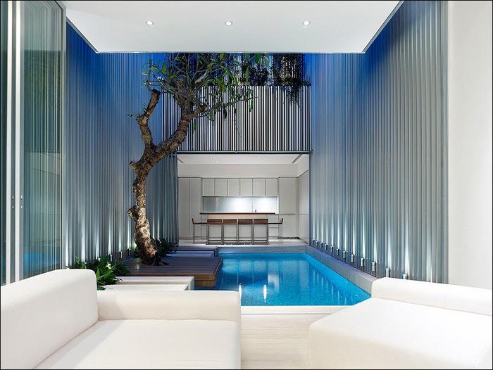 Дом в стиле минимал на Blair Road от студии Ong & Ong 18