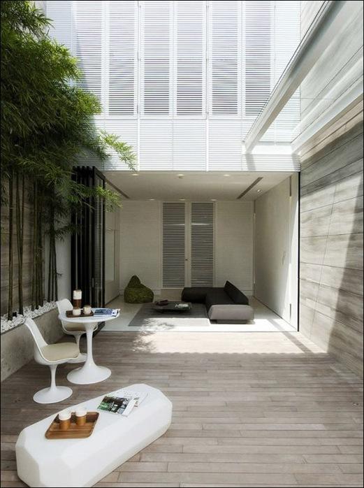 Дом в стиле минимал на Blair Road от студии Ong & Ong 33
