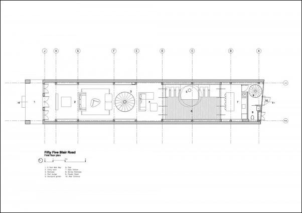 Дом в стиле минимал на Blair Road от студии Ong & Ong 4