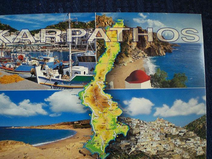 Остров Карпатос - высокие горы, традиционные поселки, пляжи на юге... 57356