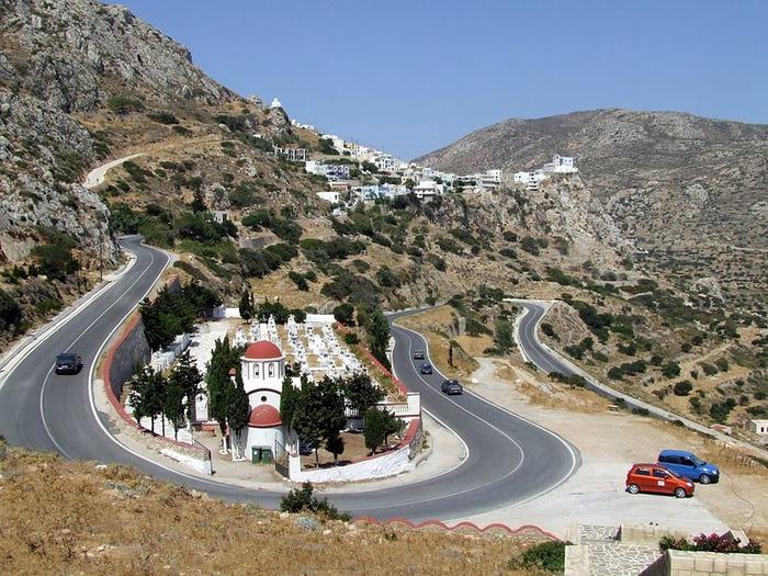 Остров Карпатос - высокие горы, традиционные поселки, пляжи на юге... 52335