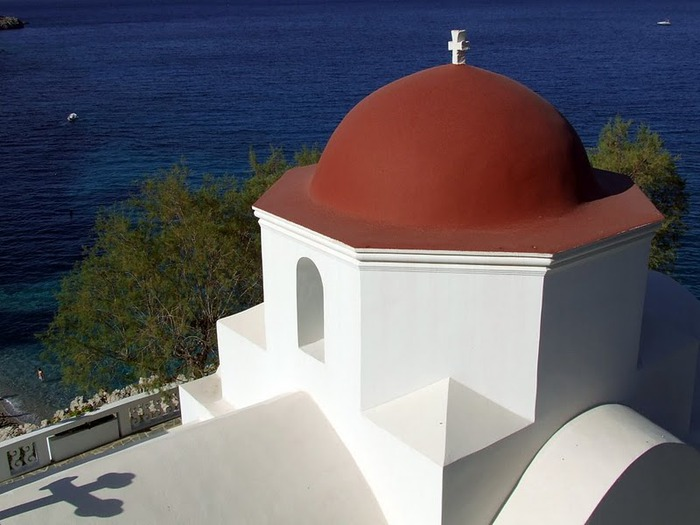 Остров Карпатос - высокие горы, традиционные поселки, пляжи на юге... 29993
