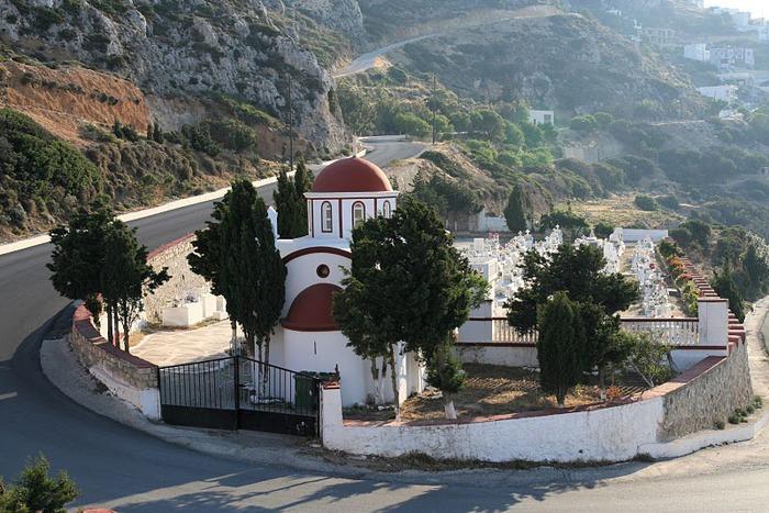 Остров Карпатос - высокие горы, традиционные поселки, пляжи на юге... 47043