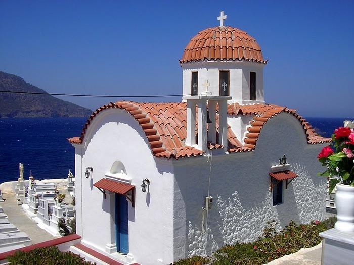Остров Карпатос - высокие горы, традиционные поселки, пляжи на юге... 92389