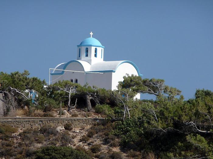 Остров Карпатос - высокие горы, традиционные поселки, пляжи на юге... 75592