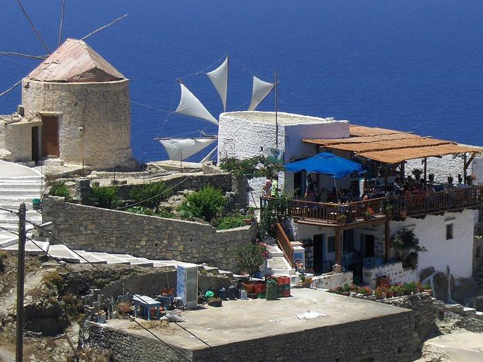 Остров Карпатос - высокие горы, традиционные поселки, пляжи на юге... 92777