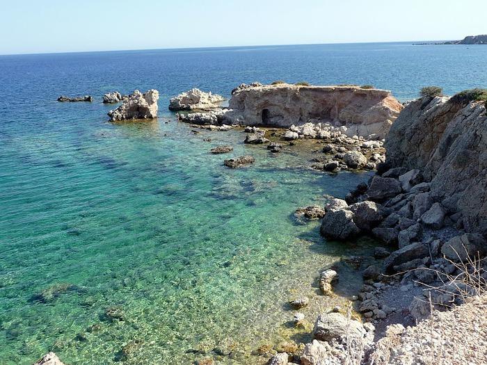 Остров Карпатос - высокие горы, традиционные поселки, пляжи на юге... 22838