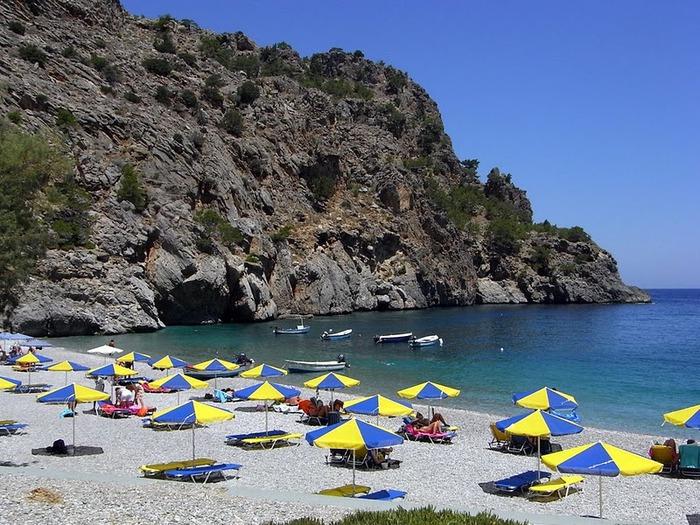Остров Карпатос - высокие горы, традиционные поселки, пляжи на юге... 55527