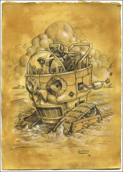 Чудные монстры от Jonathan Bergeron 31