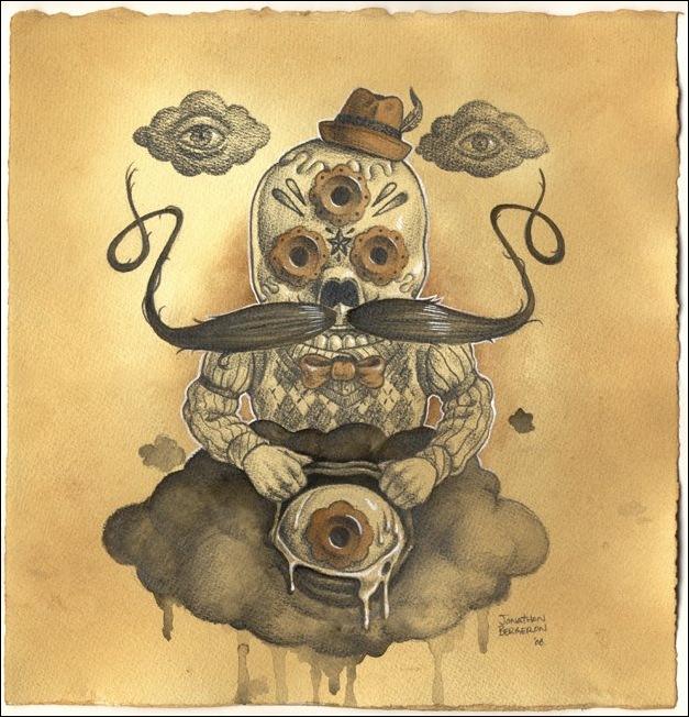 Чудные монстры от Jonathan Bergeron 33