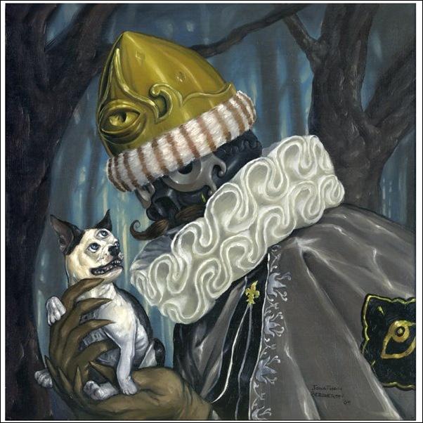 Чудные монстры от Jonathan Bergeron 44