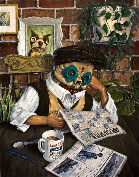 Чудные монстры от Jonathan Bergeron 53