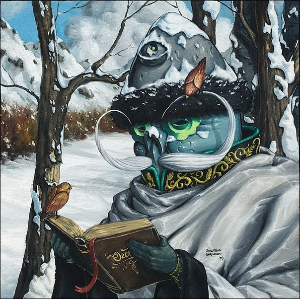 Чудные монстры от Jonathan Bergeron 59
