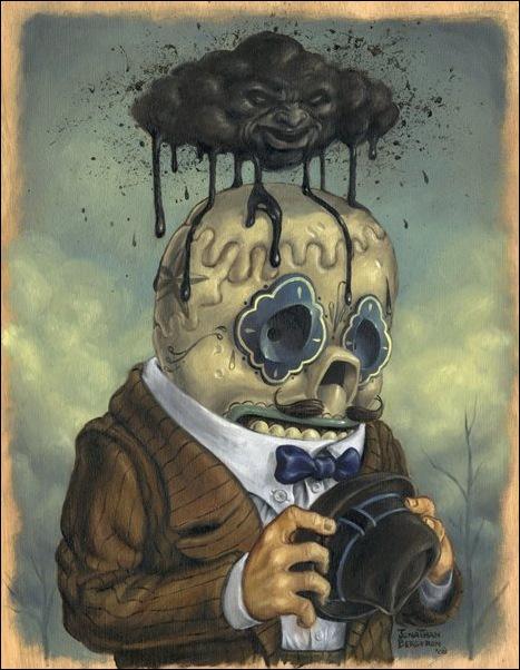 Чудные монстры от Jonathan Bergeron 4