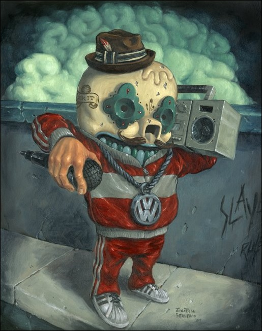 Чудные монстры от Jonathan Bergeron 6