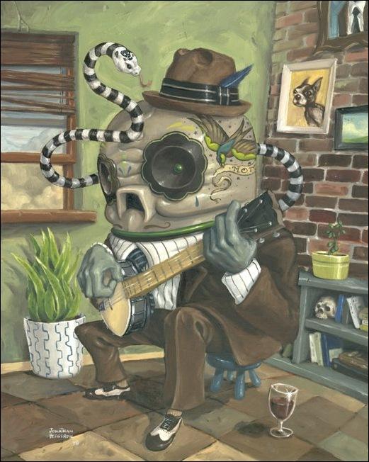 Чудные монстры от Jonathan Bergeron 8