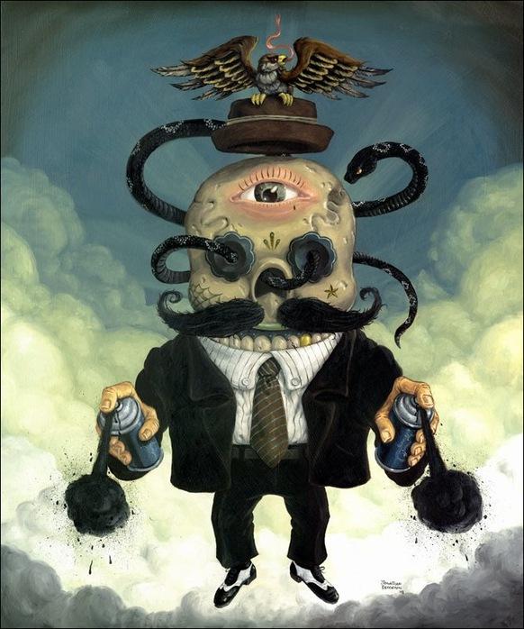 Чудные монстры от Jonathan Bergeron 10
