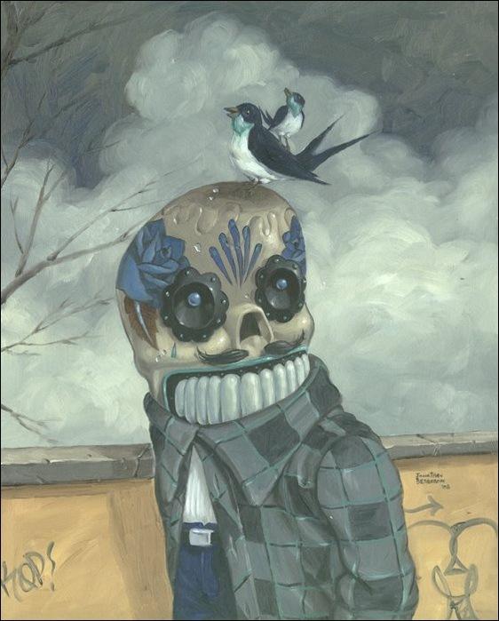 Чудные монстры от Jonathan Bergeron 12